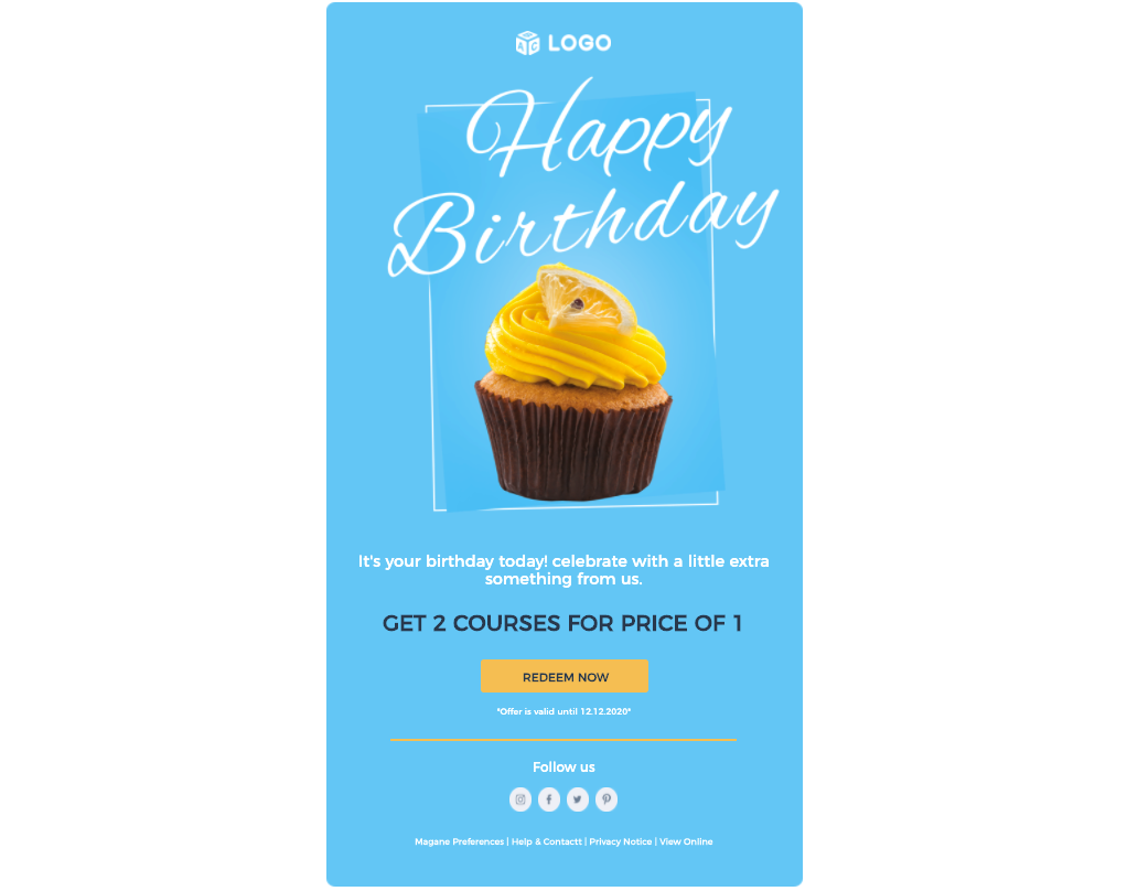 email drip campaigns birthday