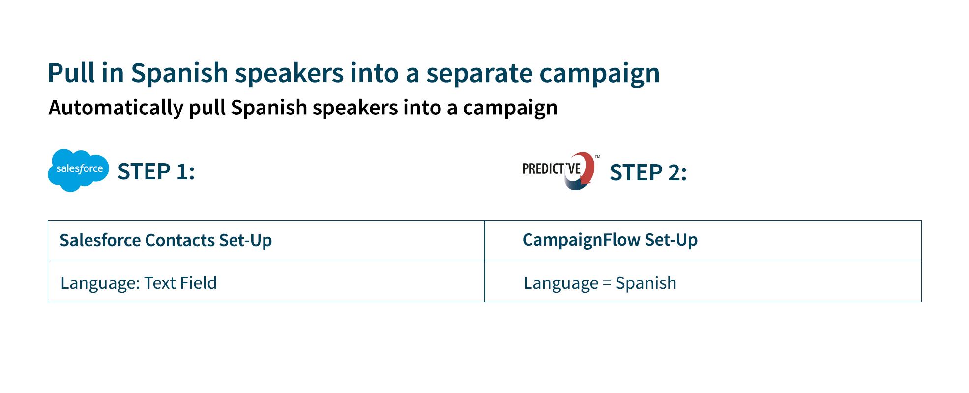 email segmentation based on language